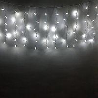 "Уличная световая гирлянда ""Дождь"" - 3х0,8 метра, 120 лампочек, белый цвет свечения"