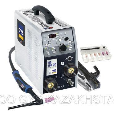 профессиональный аппарат сварки TIG 168 DC с аксессуарами SR17DB