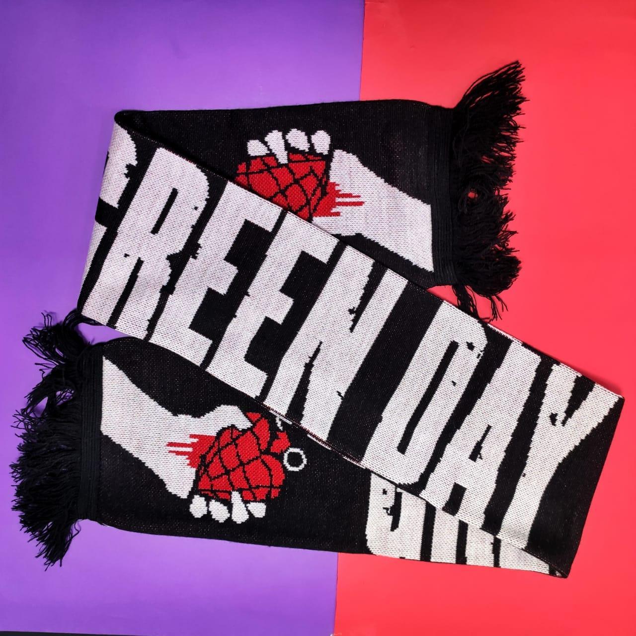 Шарф Green Day