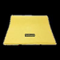 Искусственная замша TORNADO, желтая 55х40 см.
