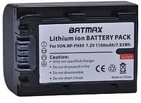 Аккумулятор батарея Batmax NP-FH50