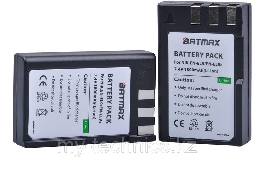 Аккумулятор батарея Batmax EN-EL9