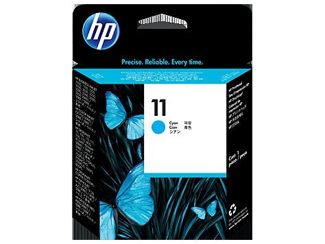 HP C4811A Печатающая головка голубая HP 11