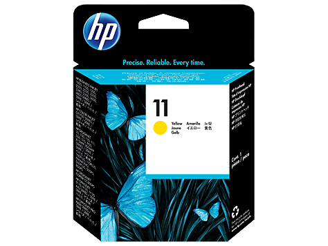 HP C4813A Печатающая головка желтая HP 11