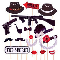 Набор для фотосессии 'Mafia Party'