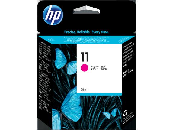 HP C4837A Картридж пурпурный HP 11 для Designjet 111/100plus/110plus/120/100/10ps/50ps