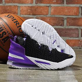 Баскетбольные кроссовки Nike LeBron 18 ( XVIII) Purple (36-46)