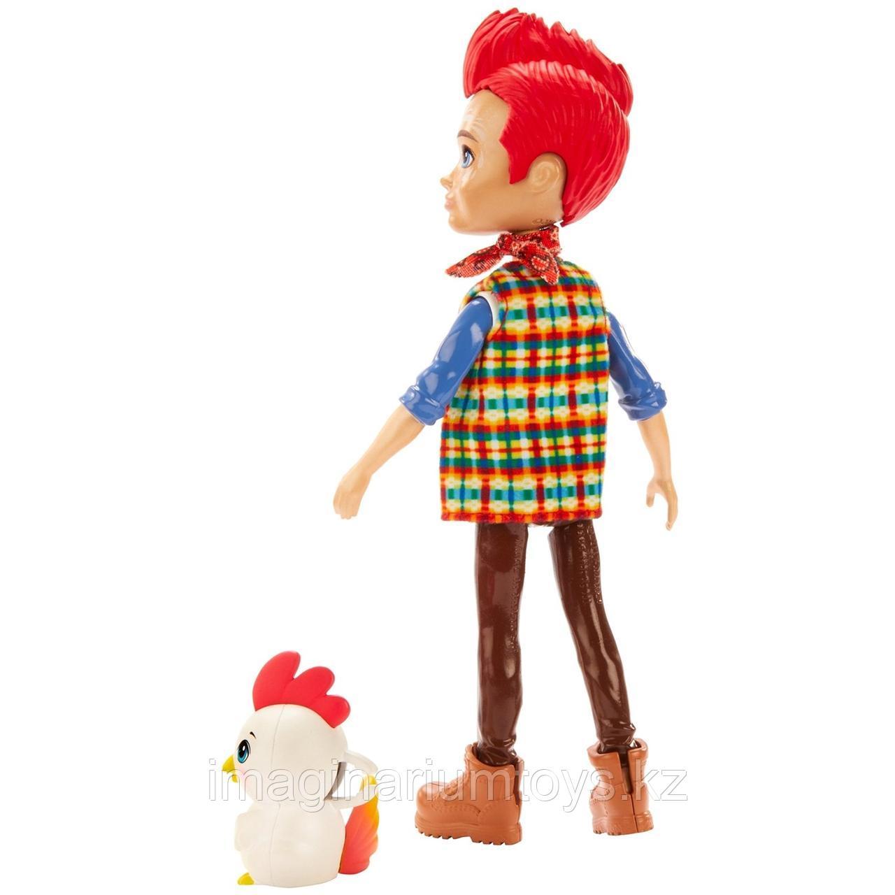 Кукла Enchantimals мальчик петушок Ривод Рустер и Клак - фото 2