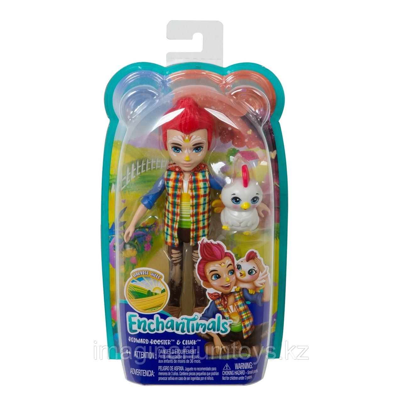 Кукла Enchantimals мальчик петушок Ривод Рустер и Клак - фото 4