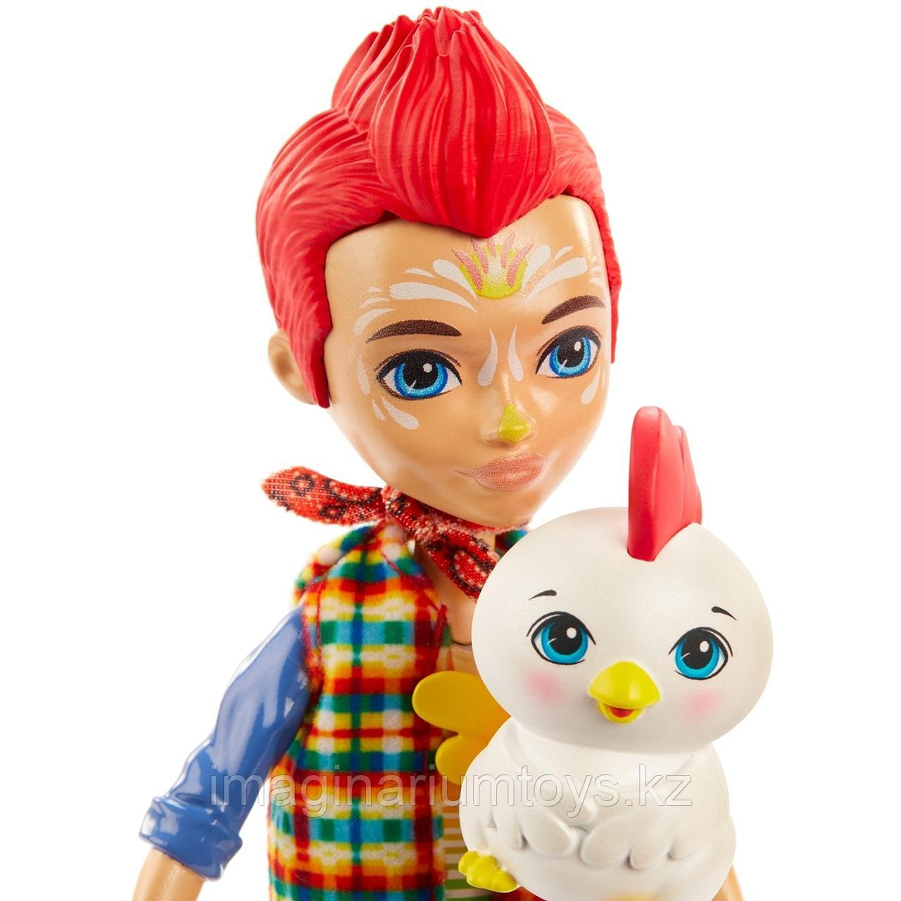 Кукла Enchantimals мальчик петушок Ривод Рустер и Клак - фото 6