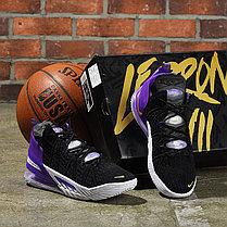 Баскетбольные кроссовки Nike LeBron 18 ( XVIII) Purple (36-46), фото 3