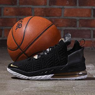 Баскетбольные кроссовки LeBron 18 ( XVIII) Black Gold (36-46), фото 2