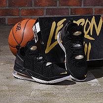 Баскетбольные кроссовки LeBron 18 ( XVIII) Black Gold (36-46), фото 3