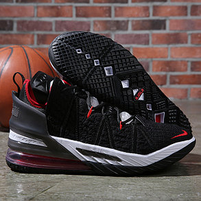 Баскетбольные кроссовки Nike LeBron 18 ( XVIII) Red Insert (36-46), фото 2