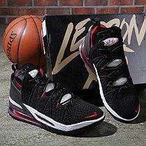 Баскетбольные кроссовки Nike LeBron 18 ( XVIII) Red Insert (36-46), фото 3