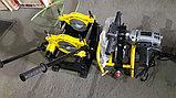 SKAT 63-160мм с 2мя держателями рычаговый, механический сварочный аппарат для стыковой пайки ПП труб, фото 2