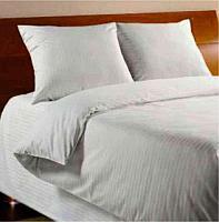 Белое постельное белье из хлопка двухспальное