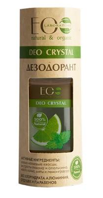 Дезодорант Ecolab Део-ролл женский DEO CRYSTAL лимон и апельсин