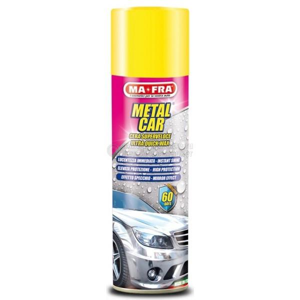 Быстродействующая полироль спрей-воск Ma-Fra METAL CAR SPRAY (500мл)