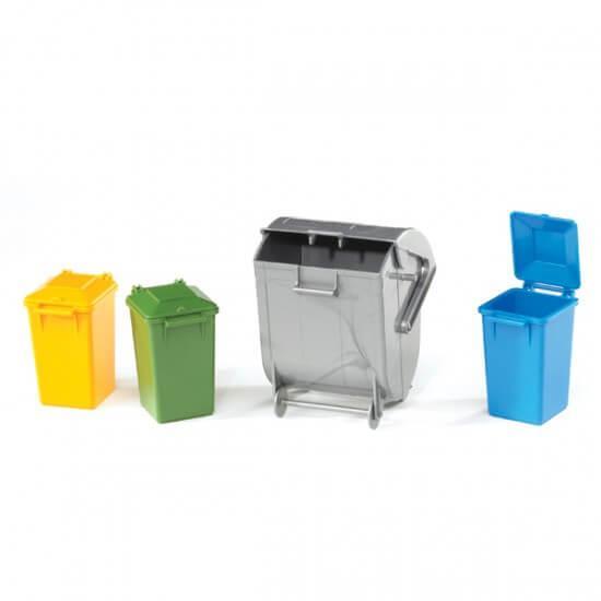 Аксессуары F: набор мусорных баков