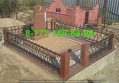 Благоустройство мусульманских могил 17