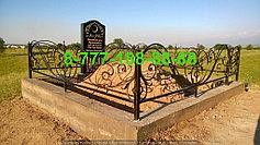 Благоустройство мусульманских могил 3