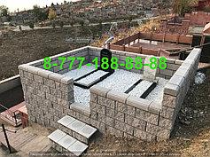 Благоустройство мусульманских могил 4