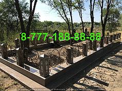 Благоустройство мусульманских могил 18
