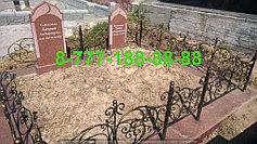 Благоустройство мусульманских могил 23