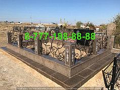 Благоустройство мусульманских могил 5