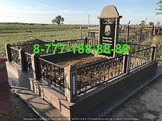 Благоустройство мусульманских могил 15
