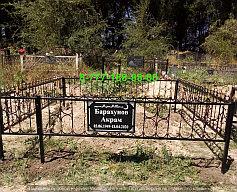 Благоустройство мусульманских могил 10