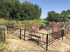 Благоустройство мусульманских могил 9
