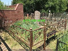 Благоустройство мусульманских могил 16