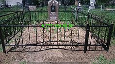 Благоустройство мусульманских могил 8