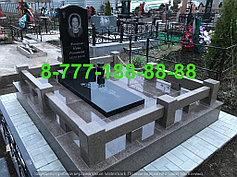 Гранитные комплексы на кладбище 20