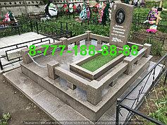 Гранитные комплексы на кладбище 1