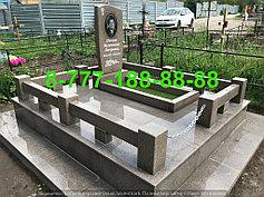 Гранитные комплексы на кладбище 23
