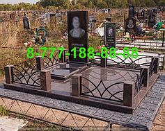 Гранитные комплексы на кладбище 28