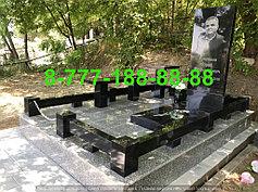 Гранитные комплексы на кладбище 35
