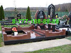 Гранитные комплексы на кладбище 7
