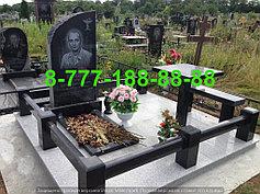 Гранитные комплексы на кладбище 29