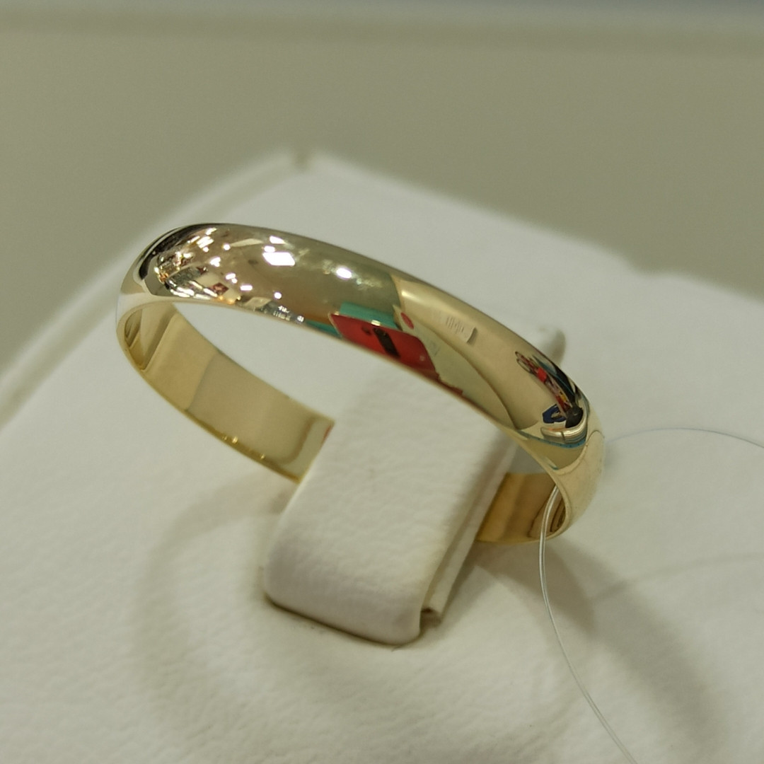 Обручальное кольцо / жёлтое золото - 20 размер