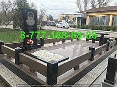 Гранитные комплексы на кладбище 27
