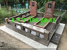 Гранитные комплексы на кладбище 39