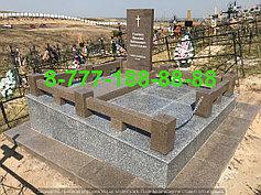 Гранитные комплексы на кладбище 21