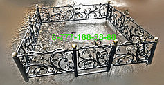 Оградки на кладбище 4