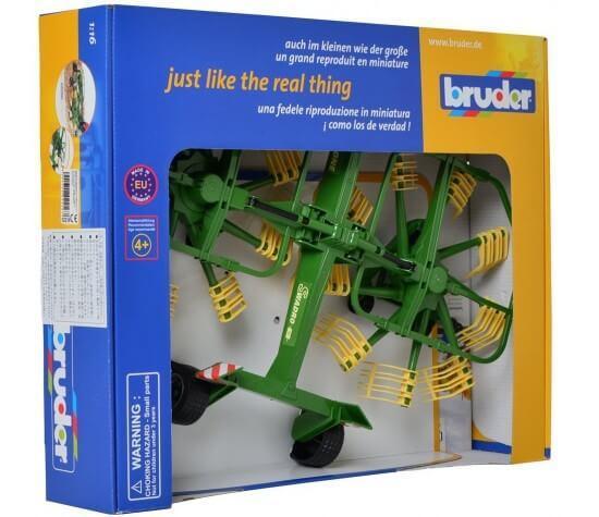 Аксессуар для трактора Bruder - Двухроторный валкователь Krone - фото 1
