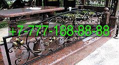 Оградки на кладбище 38