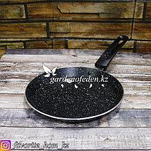"""Сковорода блинная """"Olina Granite"""". Материал: Металл. Цвет: Черный. Диаметр: 20см."""